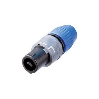 2 pole speakon plug cable mounted