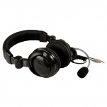 41390 Stereo Headset with Boom Mic, Dual 3.5mm Plugs