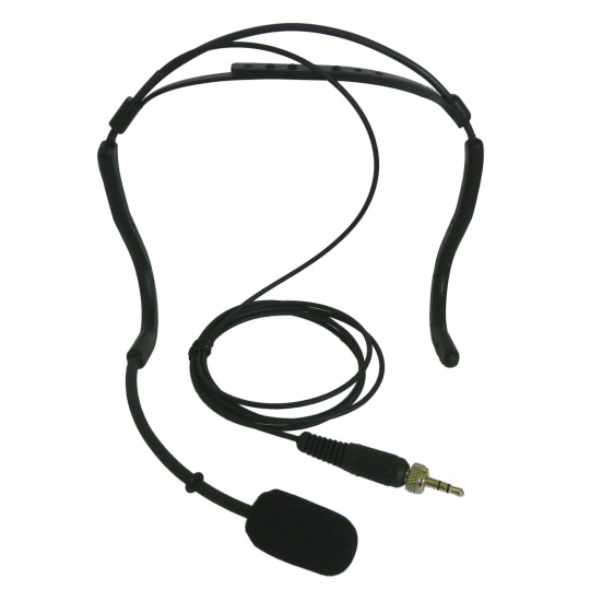 UHF Wireless Headband  Microphone for voice amplification during physical activities